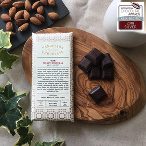 Dandelion Chocolate - Japan Chocolate Bar Dandelion Chocolate Japan - Wampu, Honduras 70% 2017 Single-Origin Chocolate Bar