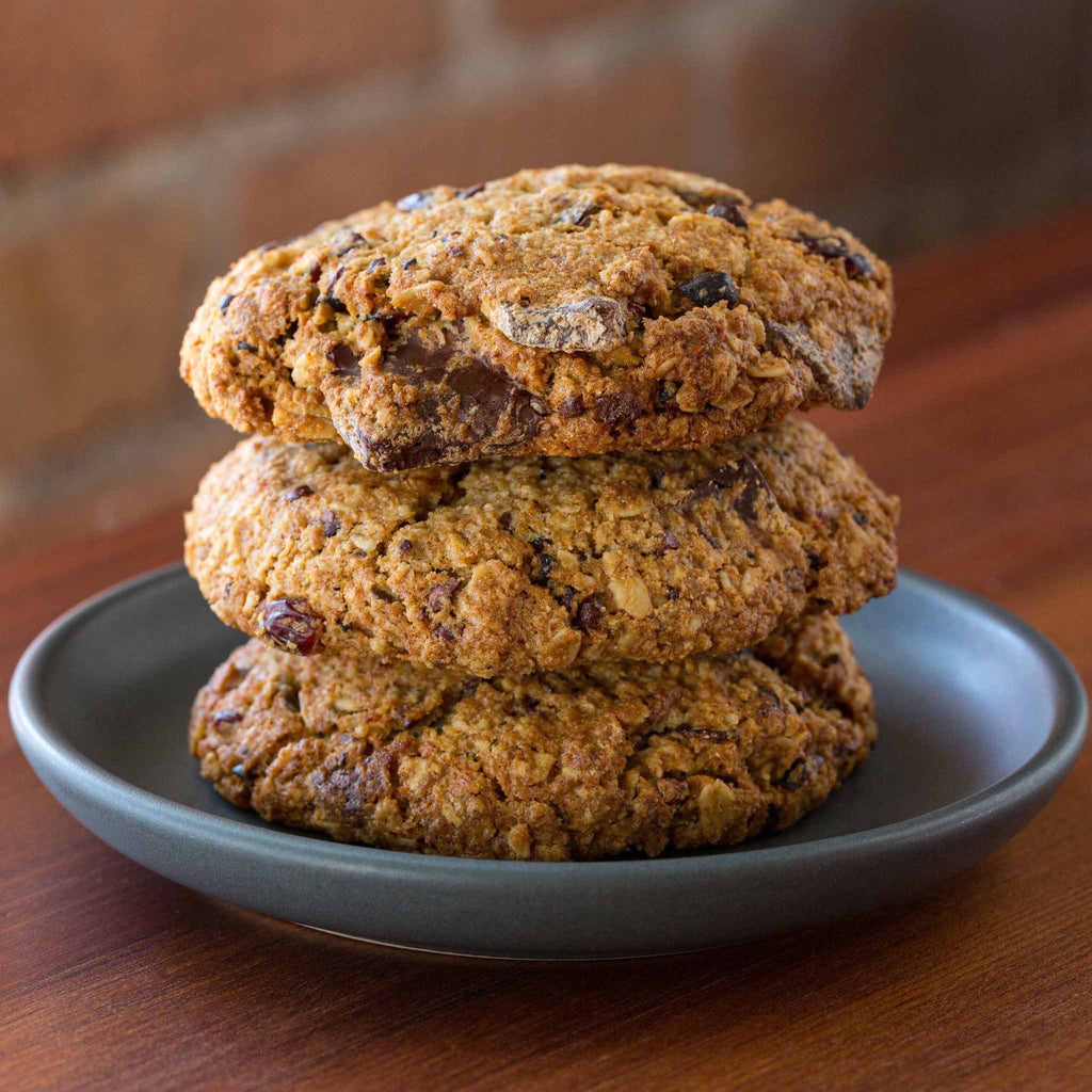 Dandelion Chocolate Pastry Oatmeal Cookie (gluten free)
