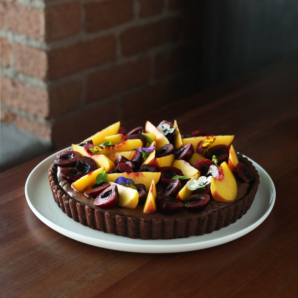 Dandelion Chocolate Summer Celebration Tart
