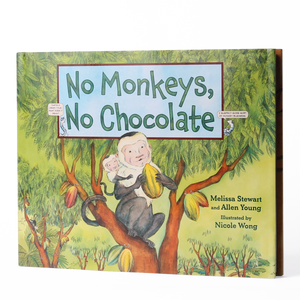Melissa Stewart and Allen Young Book No Monkeys, No Chocolate -