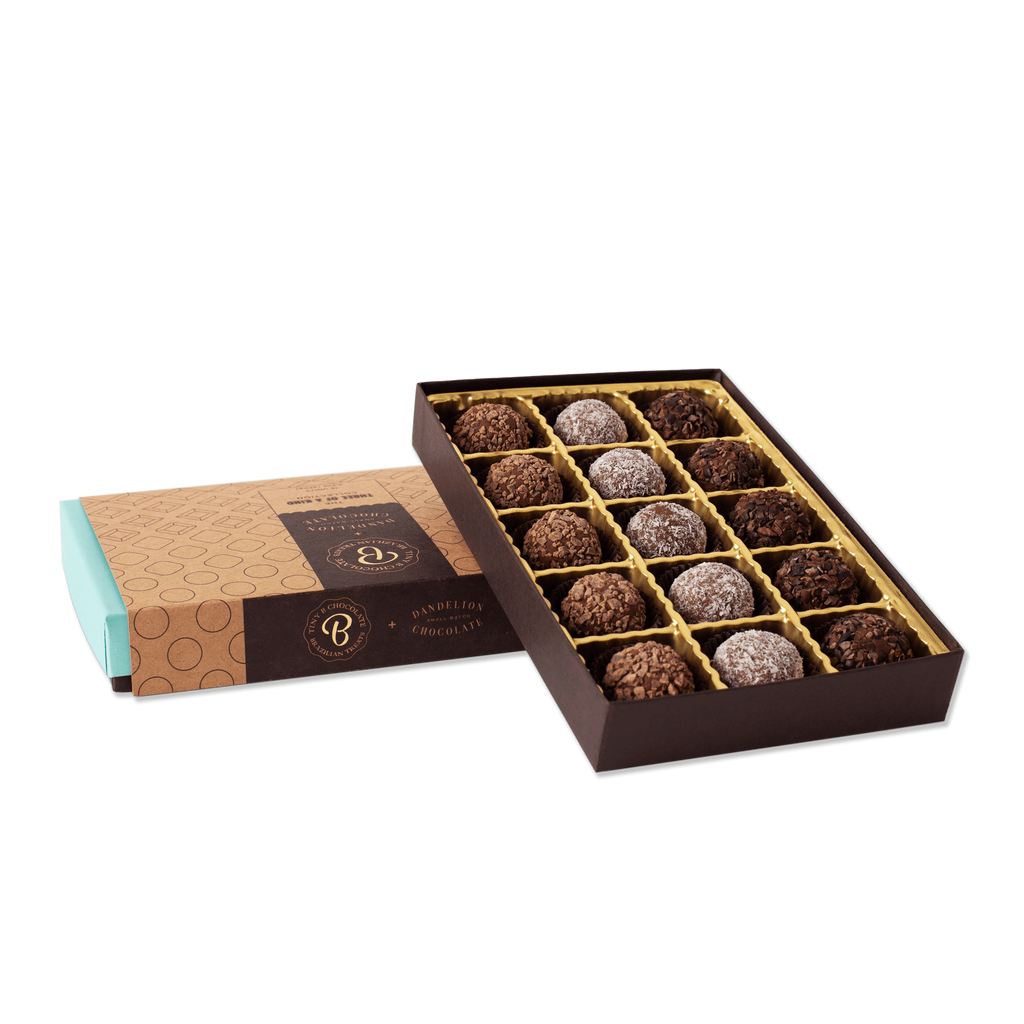tinyB chocolate Collaborator Three of a Kind Collection Brigadeiros -