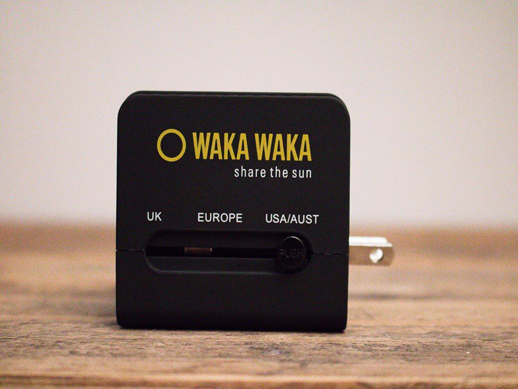 Waka Waka World Charger USA socket