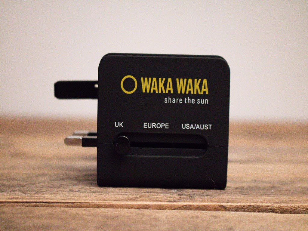 Waka Waka World Charger UK socket
