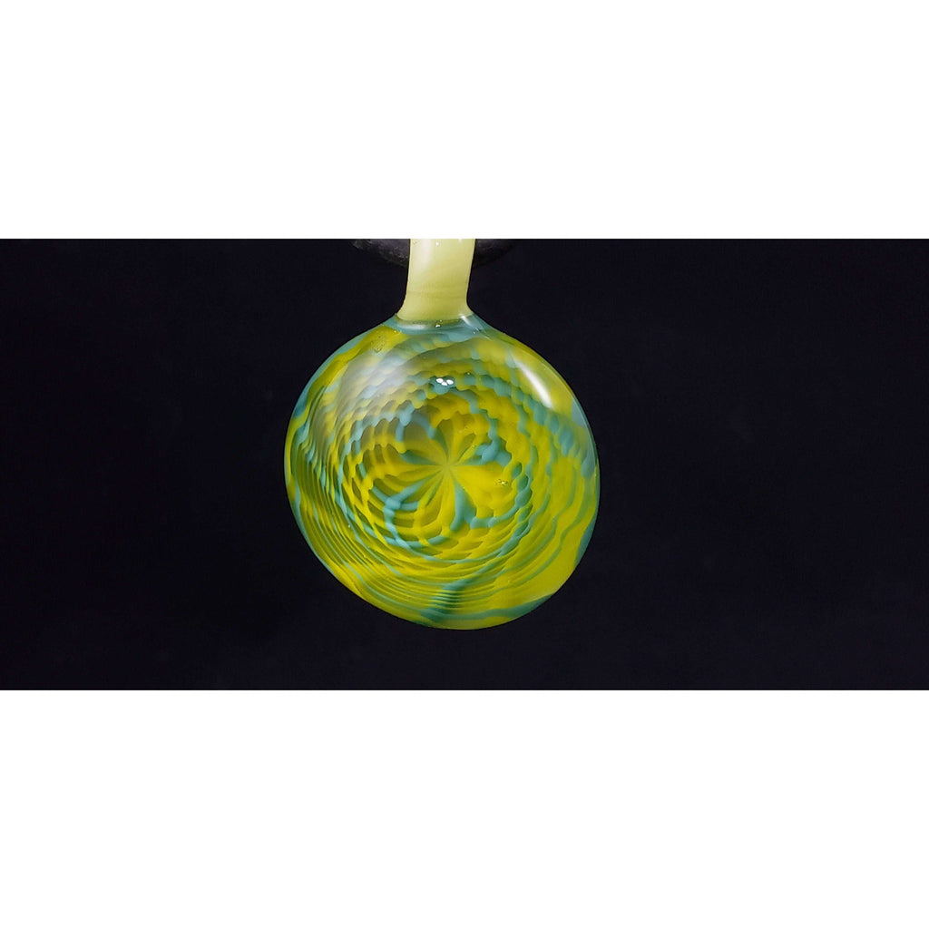 The Pastel Paradise Rettichello Glass Pendant:Conscious Mind Glass Studio's