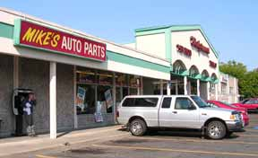 mikes autoparts store