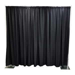Black Premier Drape - Theatrical Supplies of Australia