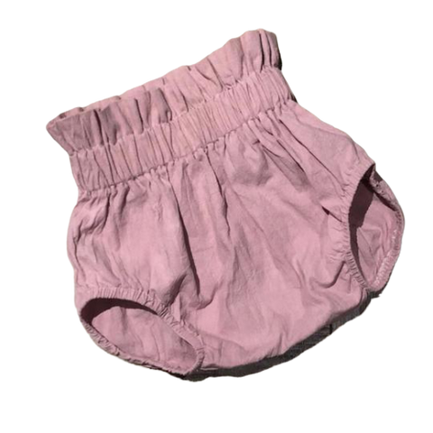 High-Waisted Bloomers in Dusty Pink