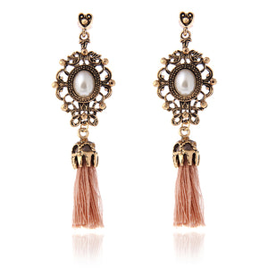 Genevieve Tassel Earrings - Kateopia