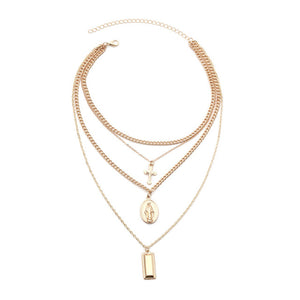 Eleanor Layered Necklace - Kateopia