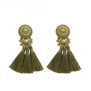 Madeline Tassel Earrings - Kateopia