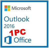Microsoft Outlook 2016 ( 1 user PC )