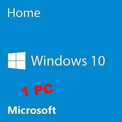 Microsoft Windows 10 Home 1 user PC
