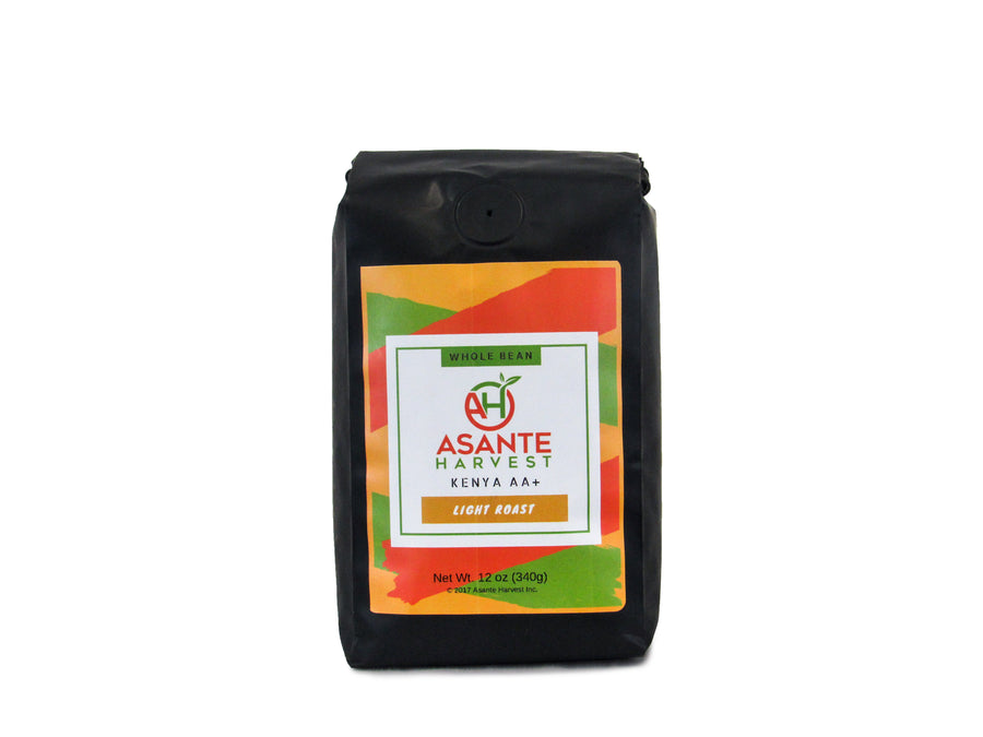 Asante Light Roast Kenya AA Coffee - Asante Harvest