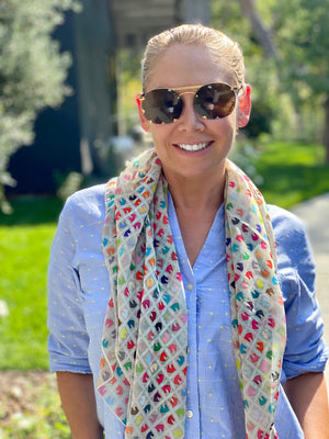 Carson Kressley Scarf to Benefit UPHA