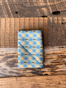 Plaid Prancer Pocket Square