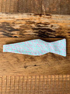 Playful Pebble Bow Tie