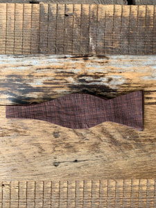 Woodgrain Willow Bow Tie