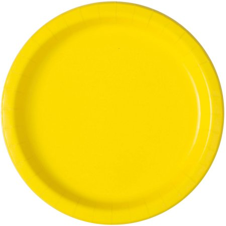 Yellow Lunch Plates- 20ct