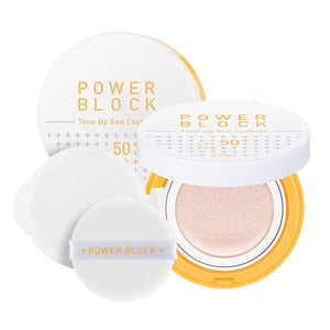 Cushion, soin solaire SPF50 + PA +++, effet tonifiant.