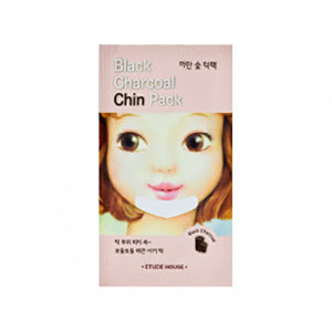 yippeun etude house black charcoal chin pack