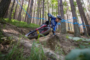 Team CRC Mavic at the British National Enduro Champs