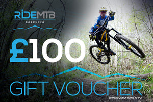 RideMTB Coaching Gift Voucher £100