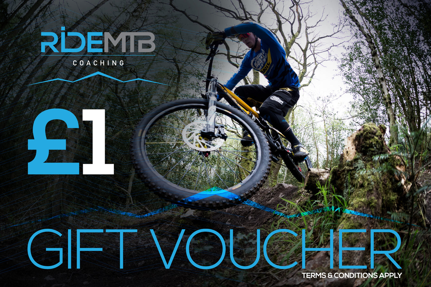 RideMTB Coaching Gift Voucher £1