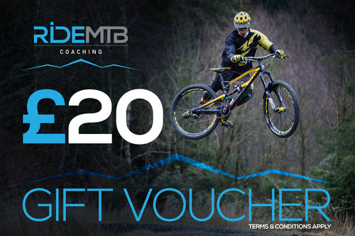 RideMTB Coaching Gift Voucher £20