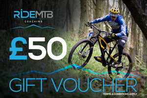 RideMTB Coaching Gift Voucher £50