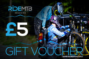 RideMTB Coaching Gift Voucher £5