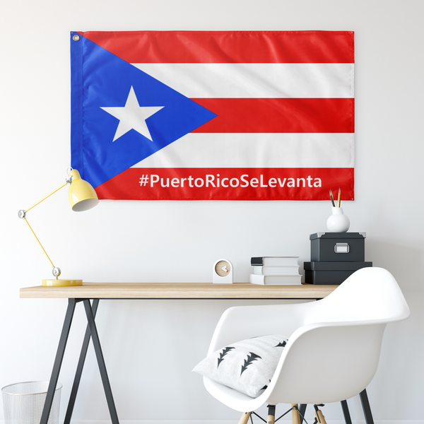 Official #PuertoRicoSeLevanta® Bandera Flag