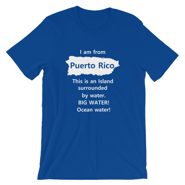 Official #PuertoRicoSeLevanta® I am from Puerto Rico T-Shirt