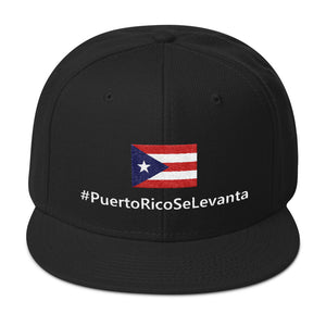 Official #PuertoRicoSeLevanta® Flag Snapback Hat