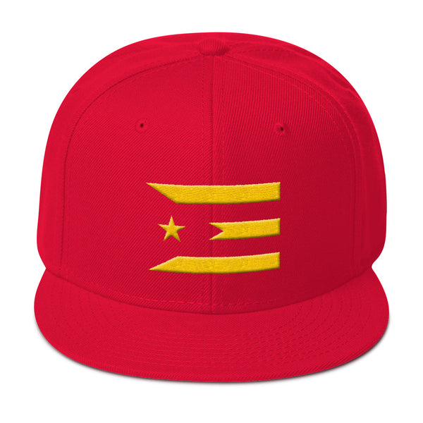 Official #PuertoRicoSeLevanta™ Abstract Flag Fundraiser Hat GOLD Edition