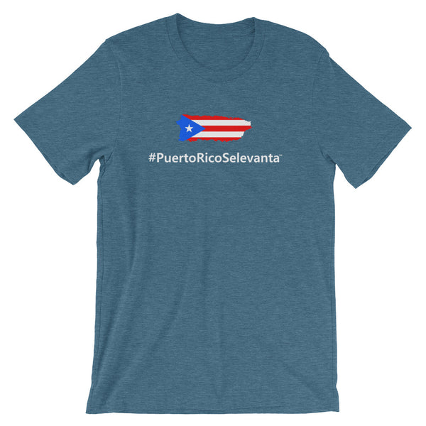 The Official #PuertoRicoSeLevanta® Island T-Shirt