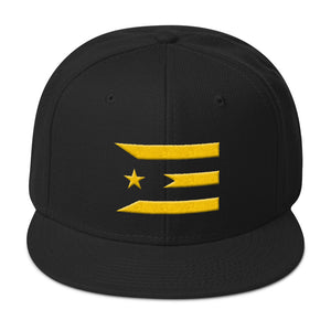 Official #PuertoRicoSeLevanta® Abstract Flag Hat GOLD Edition