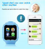 Kids bluetooth children smart watch GPS