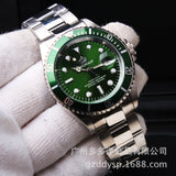 Military Sports Fashion Brand Auto Date Full steel DressMan Business Casual quartz Wristwatch.