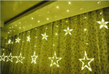 2.5M x 1M New Year Christmas Garlands LED