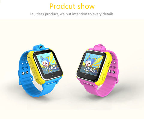 GPS smart baby watch with iOS Android