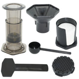 Portable Filter Coffee Espresso Maker French Press