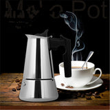small size coffee Maker Pot  Latte Percolator Stove