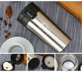 Transhome Stainless Steel Tumbler Thermocup Coffee Mugs 380ml