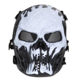 Halloween Party Supplies Airsoft Paintball Mask Skull Full Face Mask Army Games