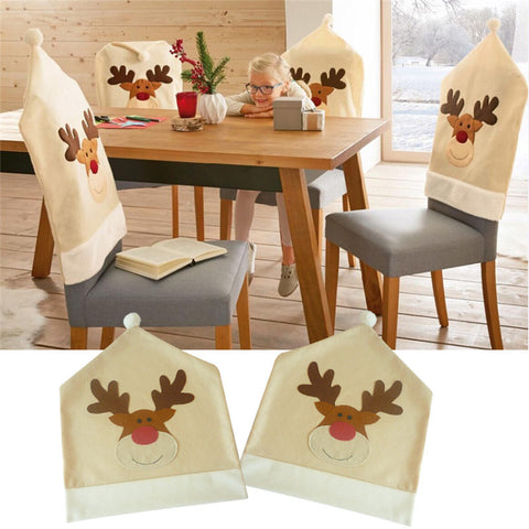 Christmas Chair Covers Home Decoration