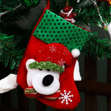 Christmas Tree Santa Socks Hanging Ornaments Decoration