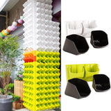 Wall Mounted Hanging Vertical Flower pot Planters