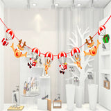 2.8m new year Christmas Decoration parachute flags