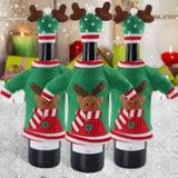 Red Wine Bottle Cover New Year's Products