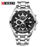 Mens Quartz Sports Watch - Waterproof